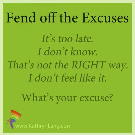 fend off excuses