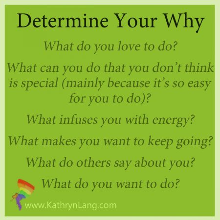 determine your why