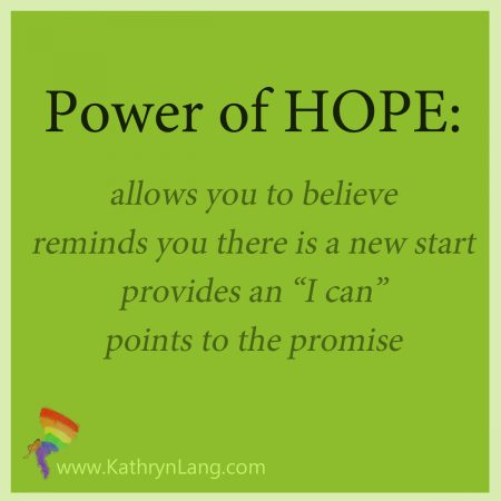 power in hope