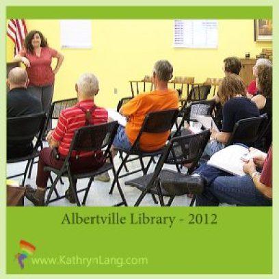 speaking albertville library 2012