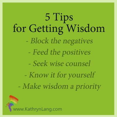 5 tips for getting wisdom