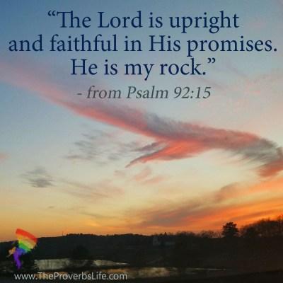 Scripture Focus July 19 Psalm 92