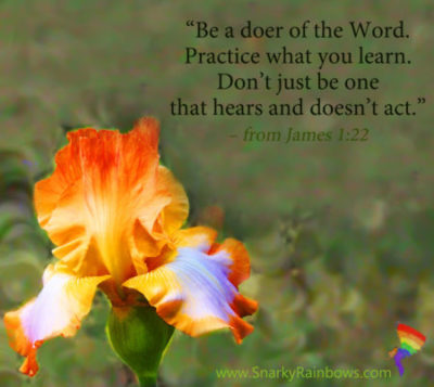Doer of the Word - James 1:22
