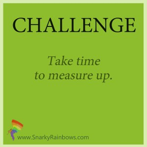 Challenge of the Day - measure up