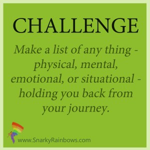 Daily Challenge - review your limitations