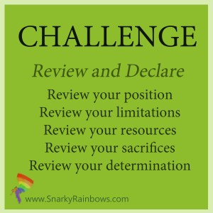 Daily Challenge - review and declare