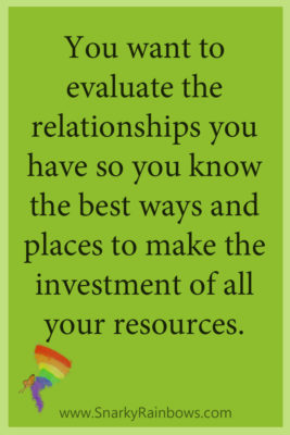 Growing HOPE daily - quote - evaluate relationships