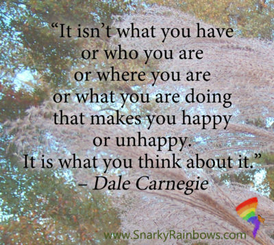 Quote of the Day - Dale Carnegie - as a man thinks
