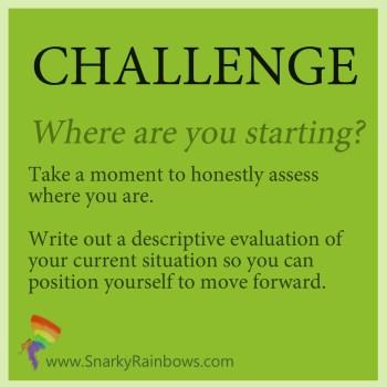 Daily Challenge - define your start