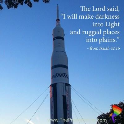 Scripture Focus Isaiah 42:16