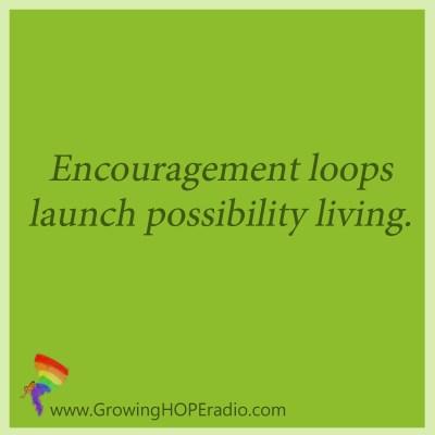 Growing HOPE Daily - encouragement loops