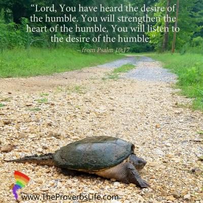 Scripture Focus - Psalm 10:17