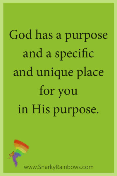 Growing HOPE Daily - God's Unique place for you