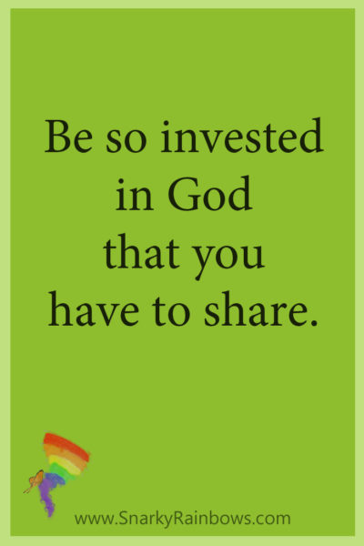 Growing HOPE Daily - pinterest quote - invested to share
