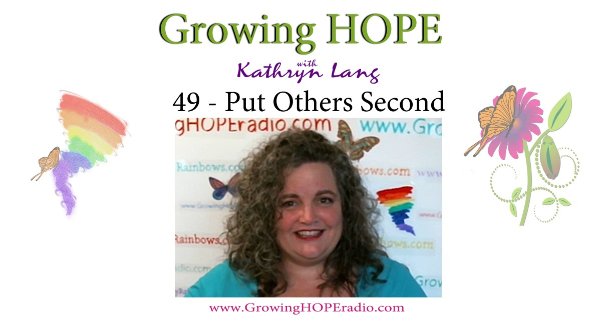 Growing HOPE Daily - Header - 49 - Put Others Second