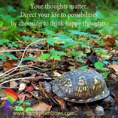 Quote of the Day - your thoughts matter