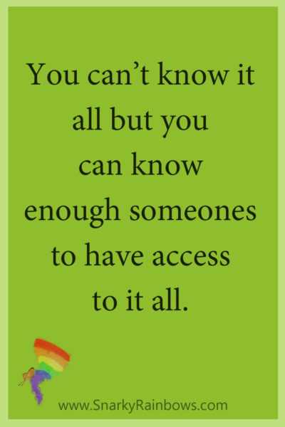 #GrowingHOPE podcast quote - know enough someones