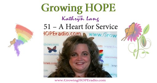 #GrowingHOPE Daily - header - 51 - heart for service