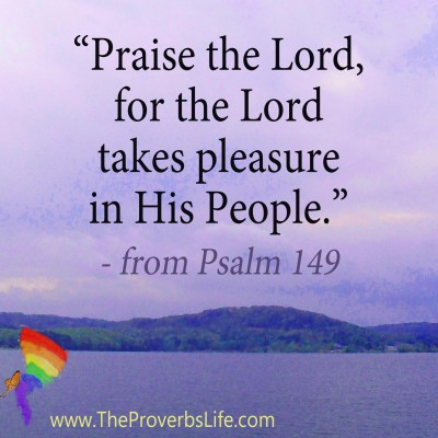Scripture Focus - from Psalm 149