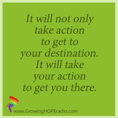 Growing HOPE - quote for taking action