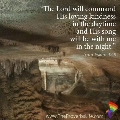 Scripture Focus - Psalm 42:8