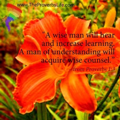 Scripture Focus - Proverbs 1:3