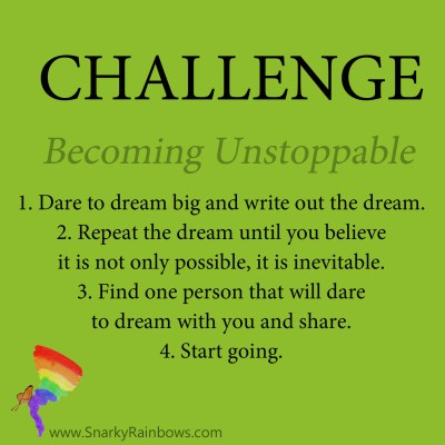 Daily Challenge - becoming unstoppable