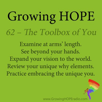Growing HOPE Daily - 5 Points - Toolbox of You