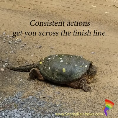 Consistent Actions create possibilities
