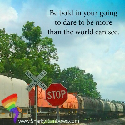 #QuoteoftheDay - bold in your going