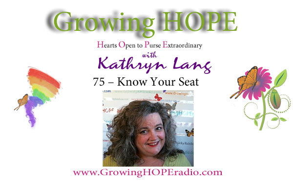 Growing HOPE Daily header - 75 - Know Your Seat