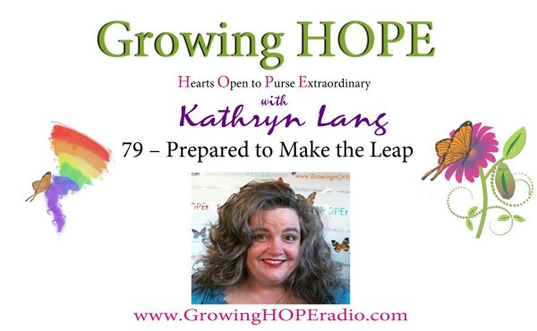 #GrowingHOPE Daily - H79 – Prepared to Make the Leap