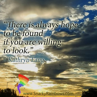 #QuoteoftheDay for December 6, 2019 - Willing to Look for Hope