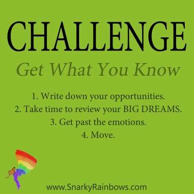Daily Challenge for December 7 - get what you know