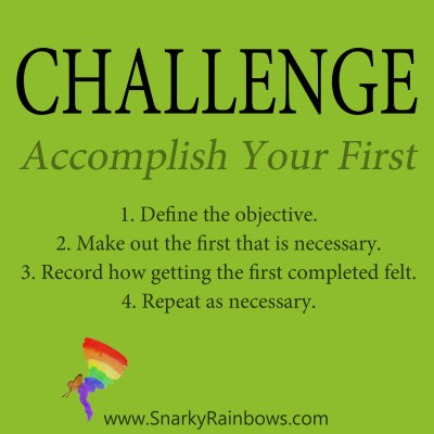 Daily Challenge for December 9 - Accomplish Your First