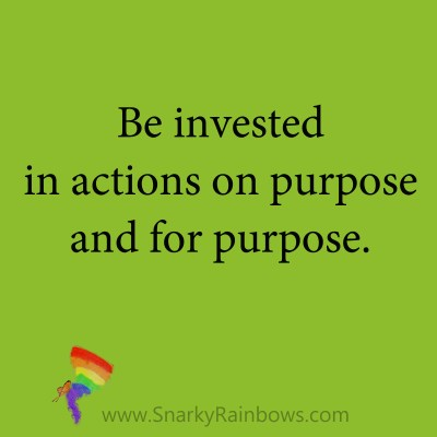 Quote be invest in action