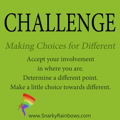 Daily Challenge - making the choices for different