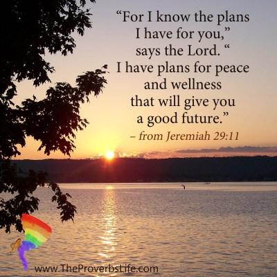 Scripture Focus - Jeremiah 29:11