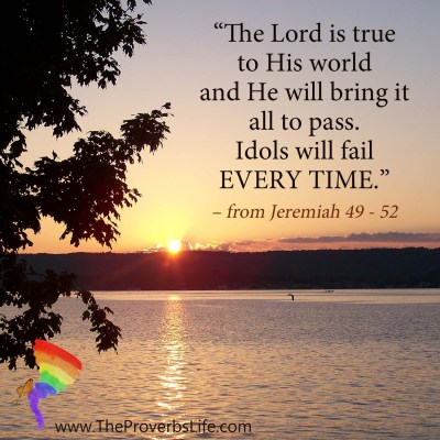 Scripture Focus - from Jeremiah 49 - 52
