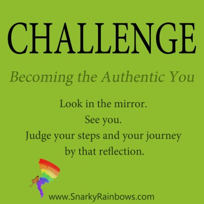 Daily Challenge - becoming authentically you