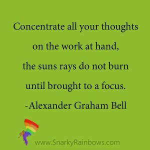 Alexander Graham Bell quote - suns rays