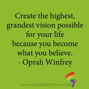 quote - oprah winfrey - grandest vision possible