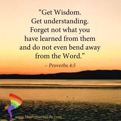 Scripture Focus - Proverbs 4:5