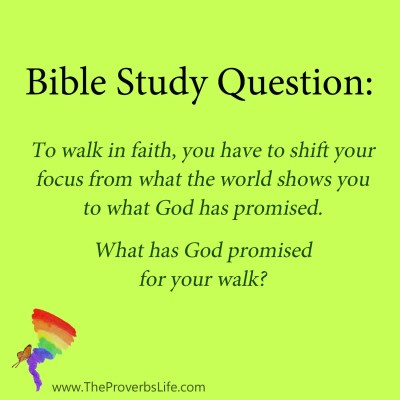 Bible Study Questions - what has God promised