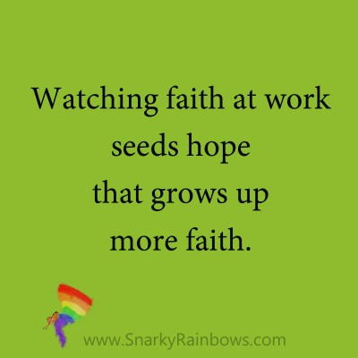 quote - faith at work