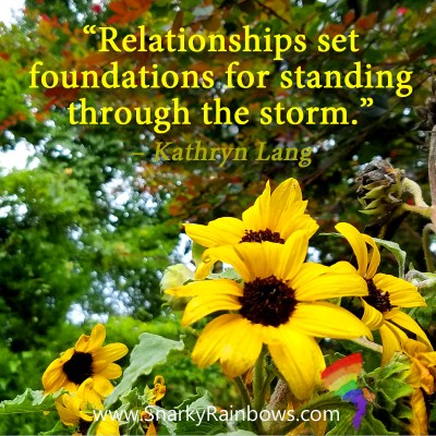 #QuoteoftheDay - relationships set foundations