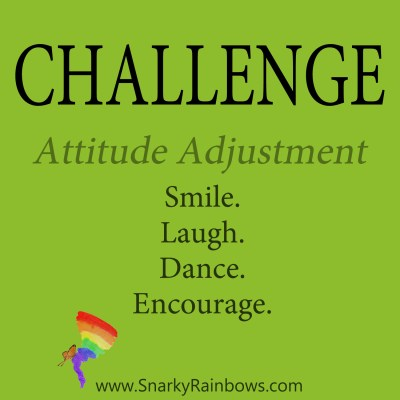 Daily Challenge - attitude adjustment