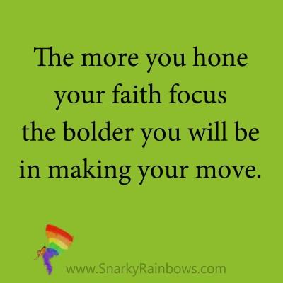 quote - faith focus