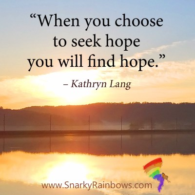 #QuoteoftheDay - seek hope to find hope