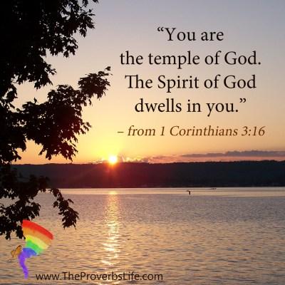 Scripture Focus - 1 corinthians 3:16
